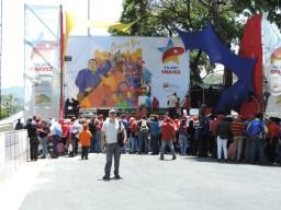 Marcha Comunera en Miraflores